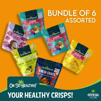 Lazada-Biggest-One-Day-Sale-11-11-Holiday-Gift-Guide-2020-healthy-crisps