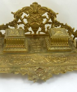 19th Century French Gilt Bronze- Dog's Tale Collectibles