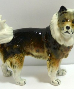 Karl Ens Keeshond Wolfsspitz Dog Side View- Dog's Tale Collectibles