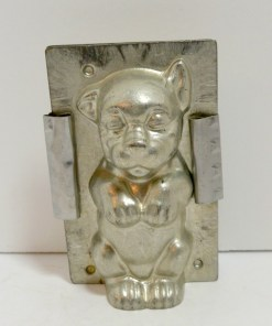 Bonzo Chocolate Mould Front- Dog's Tale Collectibles