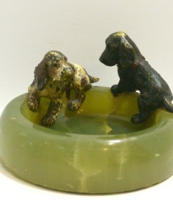 Cocker Spaniel Dog Pair Front- Dog's Tale Collectibles