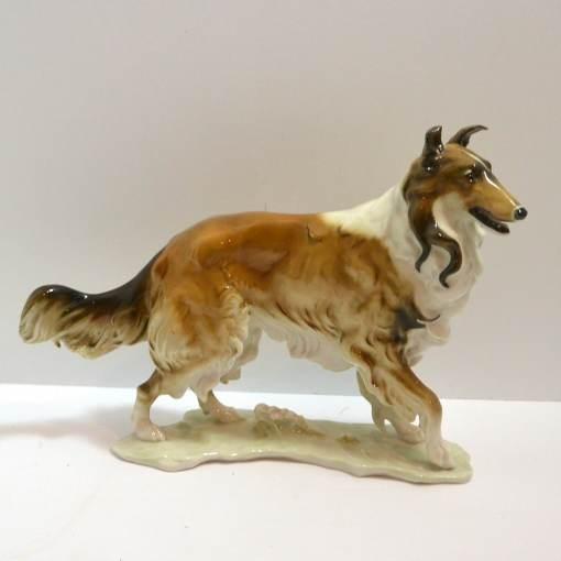 collie figurine