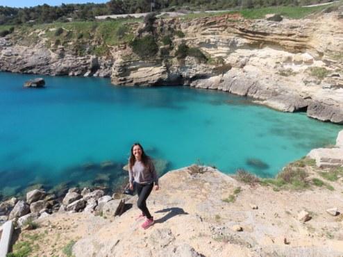 アドリア海の海岸にある遺跡をめぐる校外学習もある