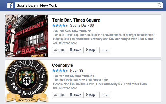 Optimise your Facebook business page for Graph Search by choosing the right page Category