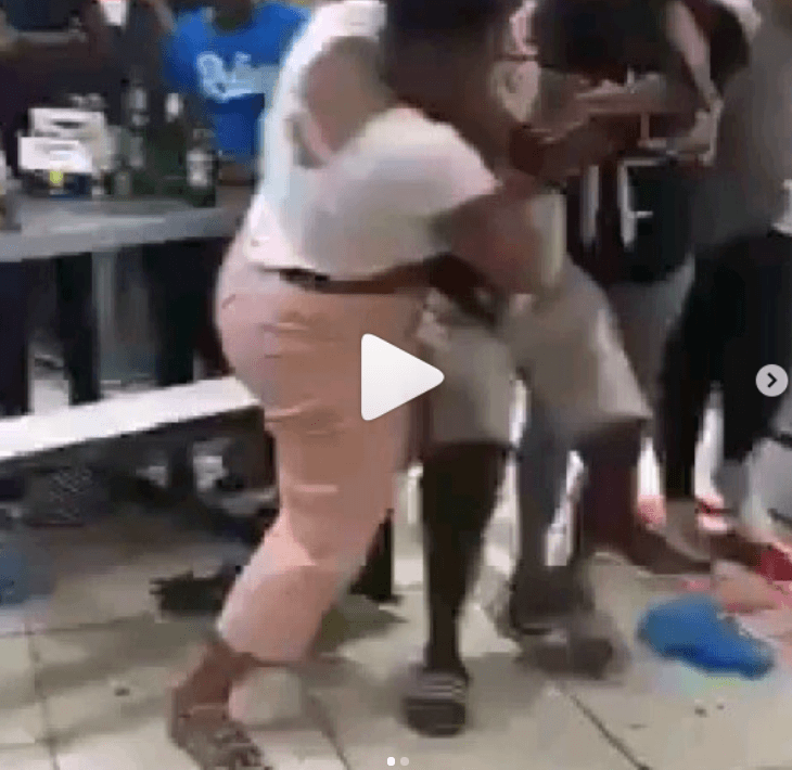 Wife whips husband for making love with side chick at restaurant [Video]