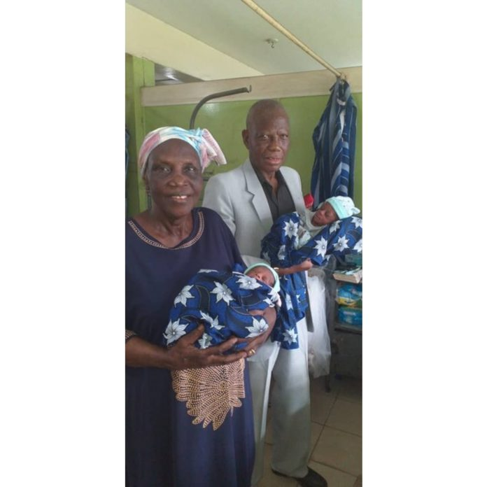 68-year-old first-time mother goes viral after delivering twins