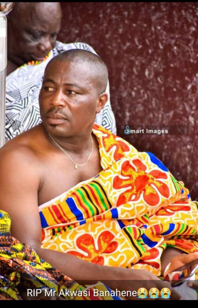 Photos: NDC financier Akwasi Banahene shot dead.