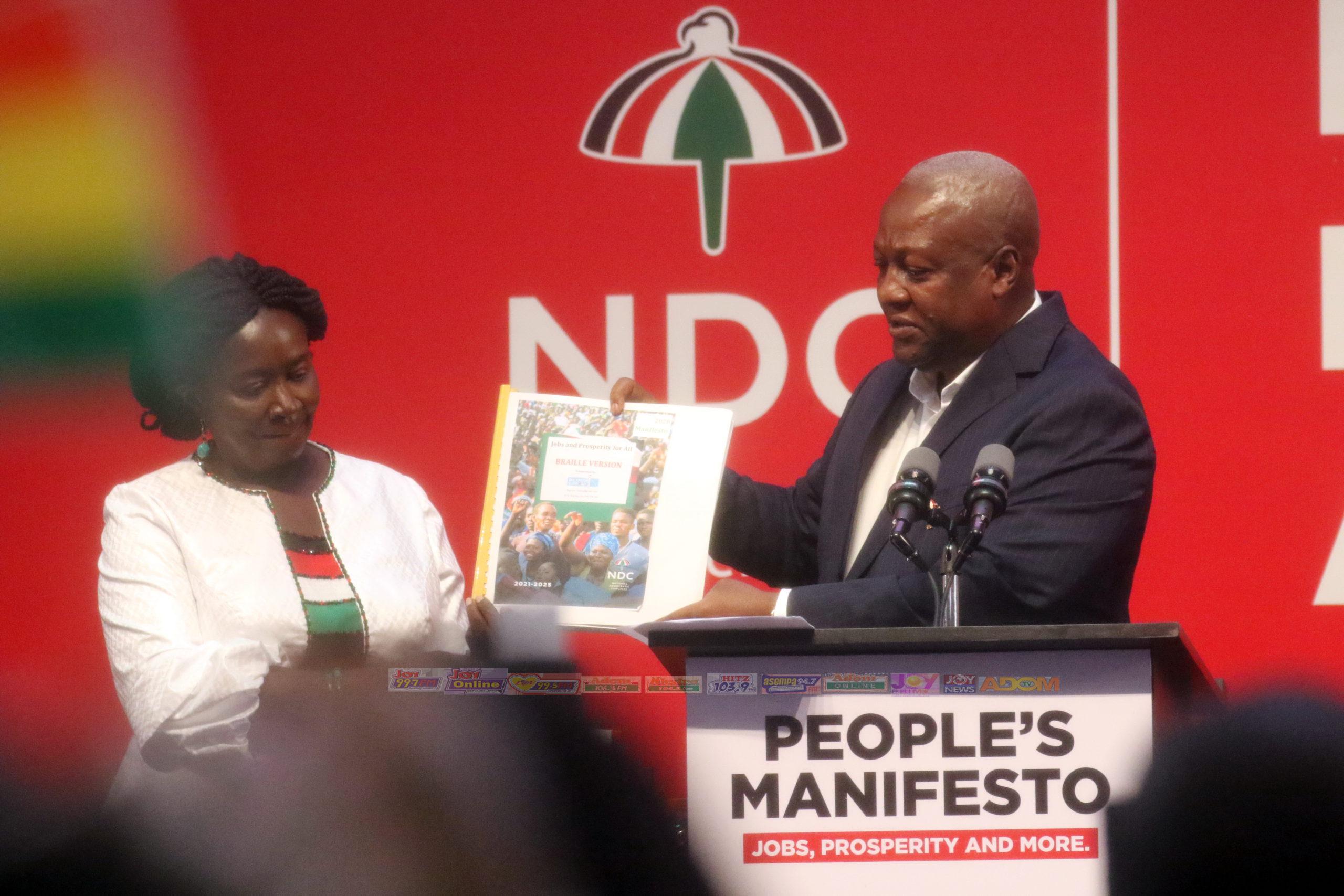 NDC manifesto launch - Adomonline.com