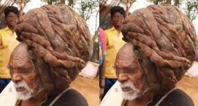 The 95-Year-Old Man Who Has Never Had A Haircut - [Watch Video]. 4