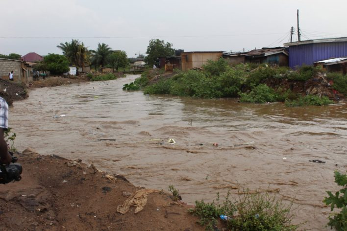 10-minutes downpour almost floods Dome residents - Photo by Patience Korkor Hesse / Adom News