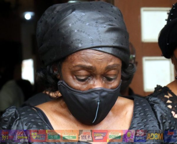 Nana Konadu touching tribute: You were for Ghana and then for me