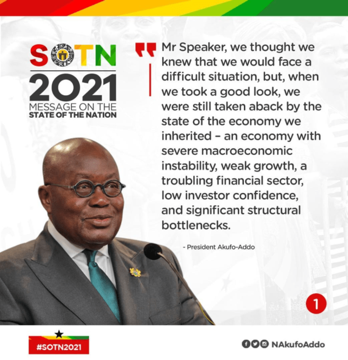 SONA: All Akufo-Addo's speech in infographics 2