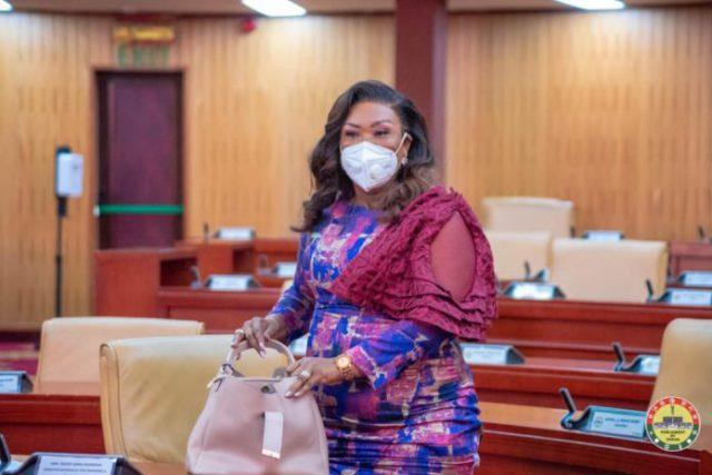 minister designate for Fisheries and Aqua Culture, Mavis Hawa Koomson
