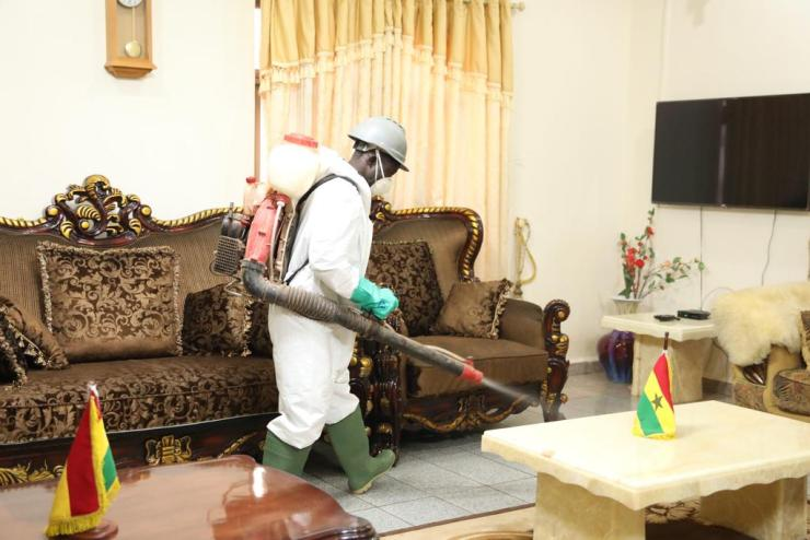 Disinfection exercises will curb new surge in Covid-19 cases 12