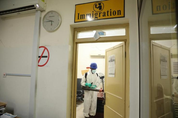 Disinfection exercises will curb new surge in Covid-19 cases 13