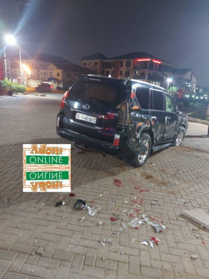 Adom FM's Bishop Owusu-Ansah involved in near fatal accident [Photos+Video] 4