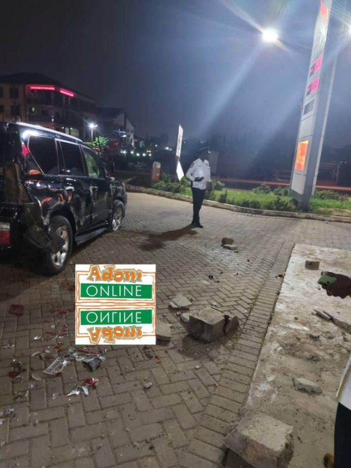 Adom FM's Bishop Owusu-Ansah involved in near fatal accident [Photos+Video] 2