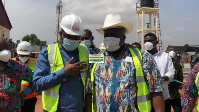 Napo, Oppong Nkrumah, VRA and others inspect Pokuase substation project