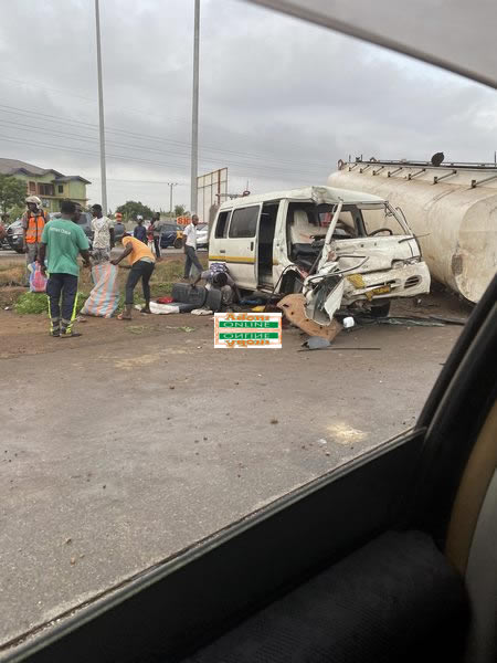 PHOTOS: One feared dead, others in critical condition in accident on Motorway 3