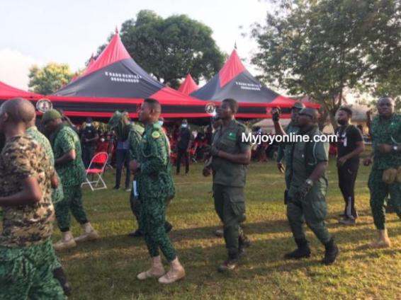 Funeral rites of Sir John underway at Sakora Wonoo [Photos+video] 5
