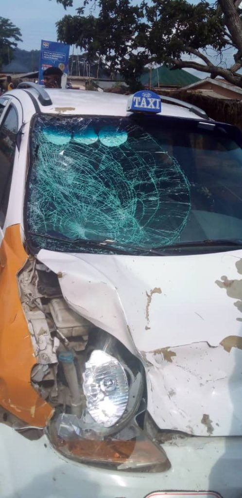 Okada rider in critical condition after colliding with taxi 2