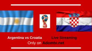 Argentina vs Croatia Live Streaming