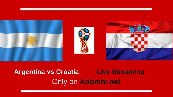 Argentina vs Croatia Live Streaming logo
