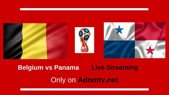 Belgium vs Panama Live Streaming logo