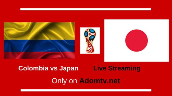 Colombia vs Japan Live Streaming logo