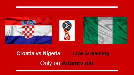Croatia vs Nigeria Live Streaming logo