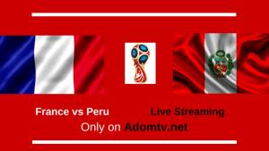 France vs Peru Live Streaming