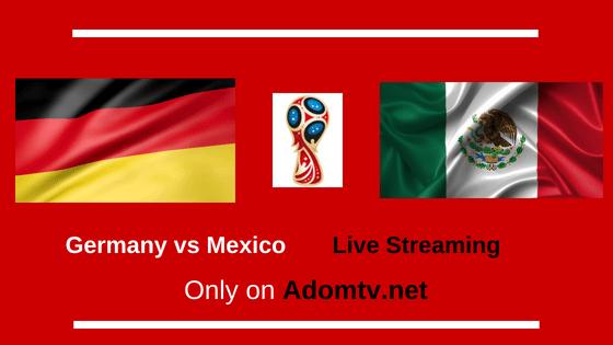 Germany vs Mexico Live Streaming logo