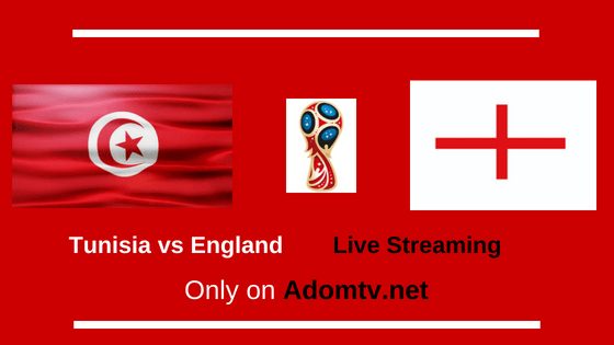 Tunisia vs England Live Streaming logo