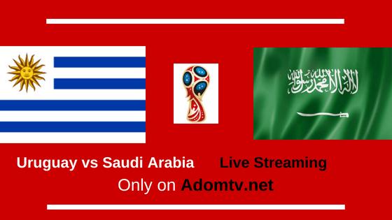 Uruguay vs Saudi Arabia Live Streaming logo