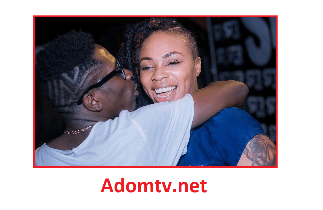 Shatta and Michy kissed to celebrate their love reunion