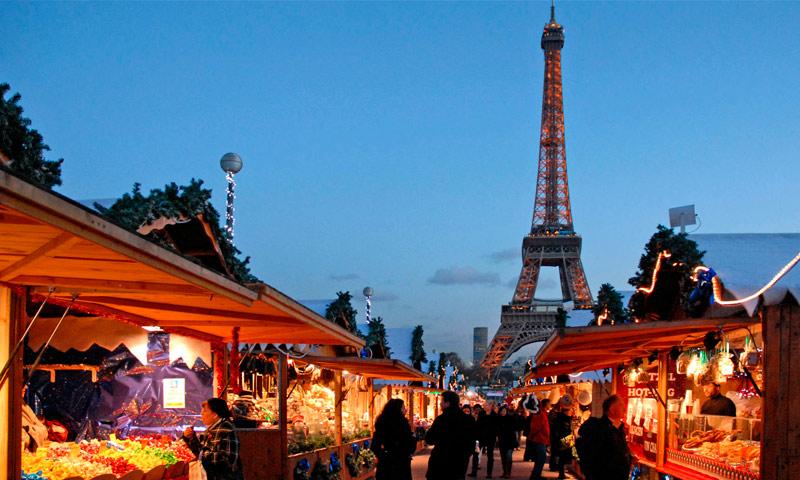 Paris mercado navidad