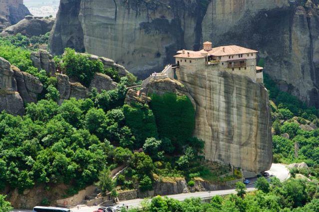 meteora monasterio roussanou