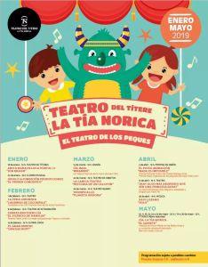 Teatro Tia Norica Enero a Mayo 2019