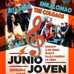 """🔔IV JUNIO JOVEN 🔔 Sábado 15 de Junio de 2019,"""" IV Junio Joven"""" Plaza Fariñas (La Linea) Cádiz niños adondevoyconmifamilia"""