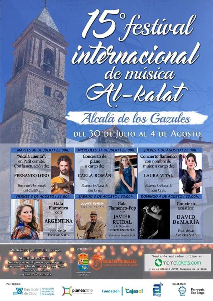Festival Internacional de música Al-kalat Del 31 de Julio al 04 de Agosto de 2019