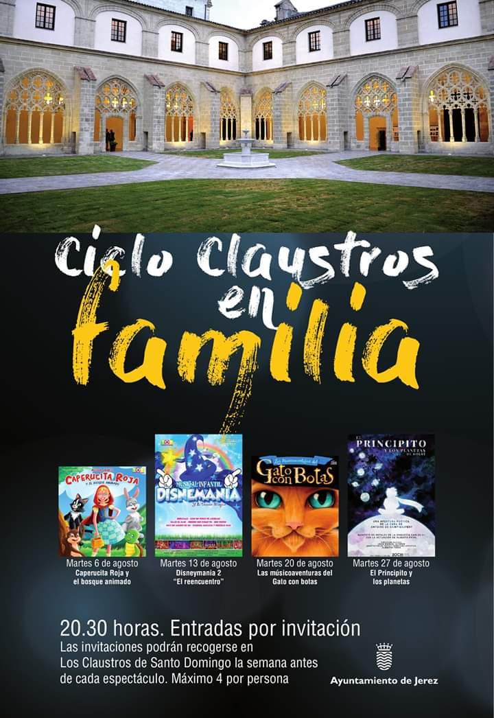 Ciclo Claustros en Familia 2019 (Jerez))