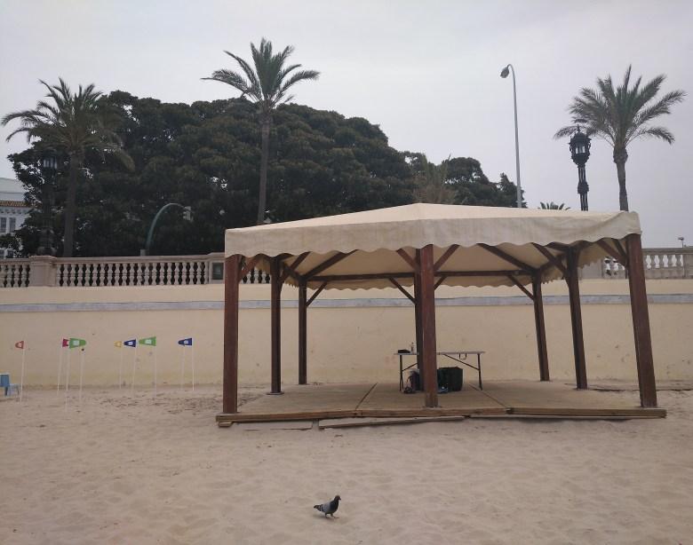 Playa de la Caleta (Cadiz)