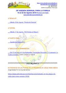 039 Agenda semanal familiar 16 al 22 Agosto 2019 adondevoyconmifamilia