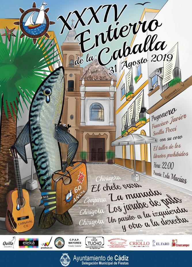 XXXIV Entierro de la Caballa 31 de Agosto de 2019 (Cadiz)