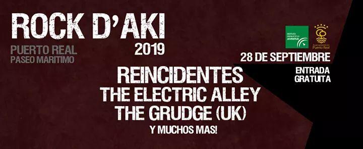 ROCK D'AKI 2019 (PUERTO REAL) Sábado 28 de Septiembre de 2019