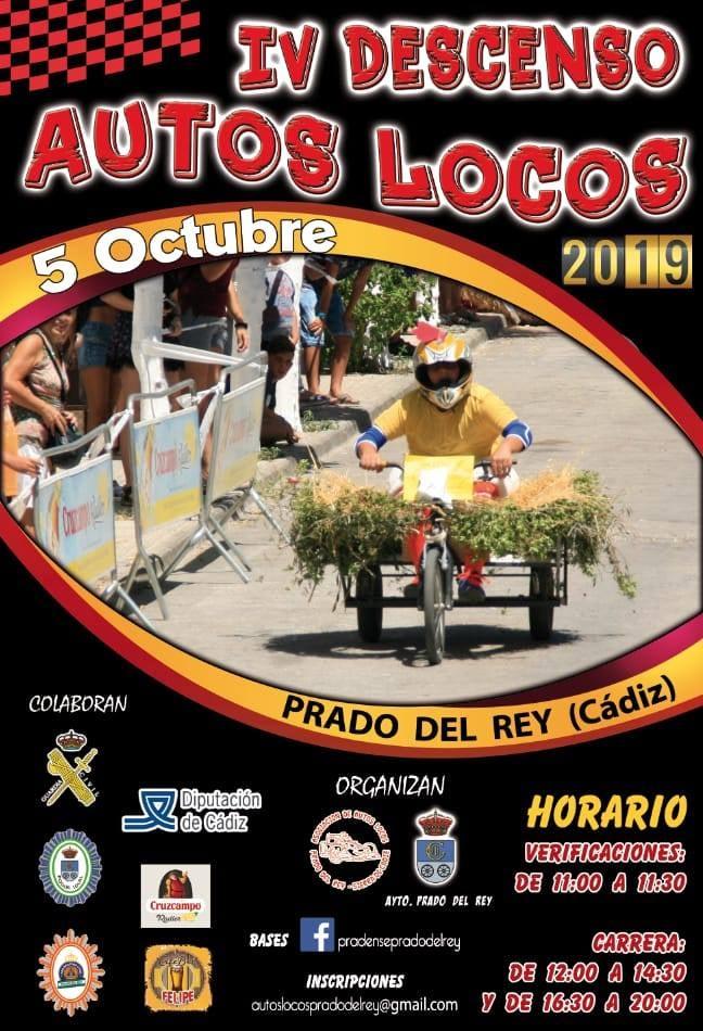 IV DESCENSO DE AUTOS LOCOS (PRADO DEL REY) Sábado 05 de Octubre de 2019