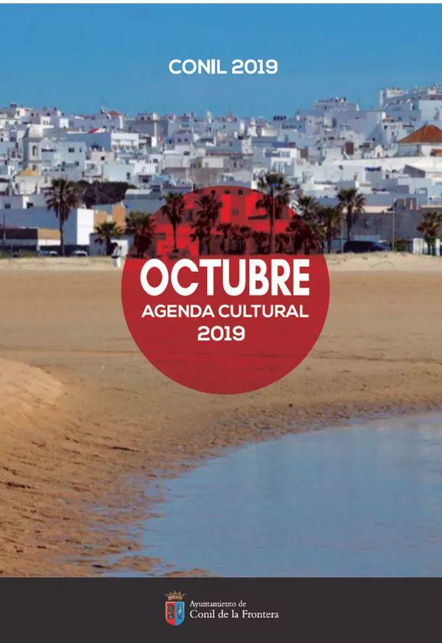 Octubre Agenda Cultural 2019 (Conil)
