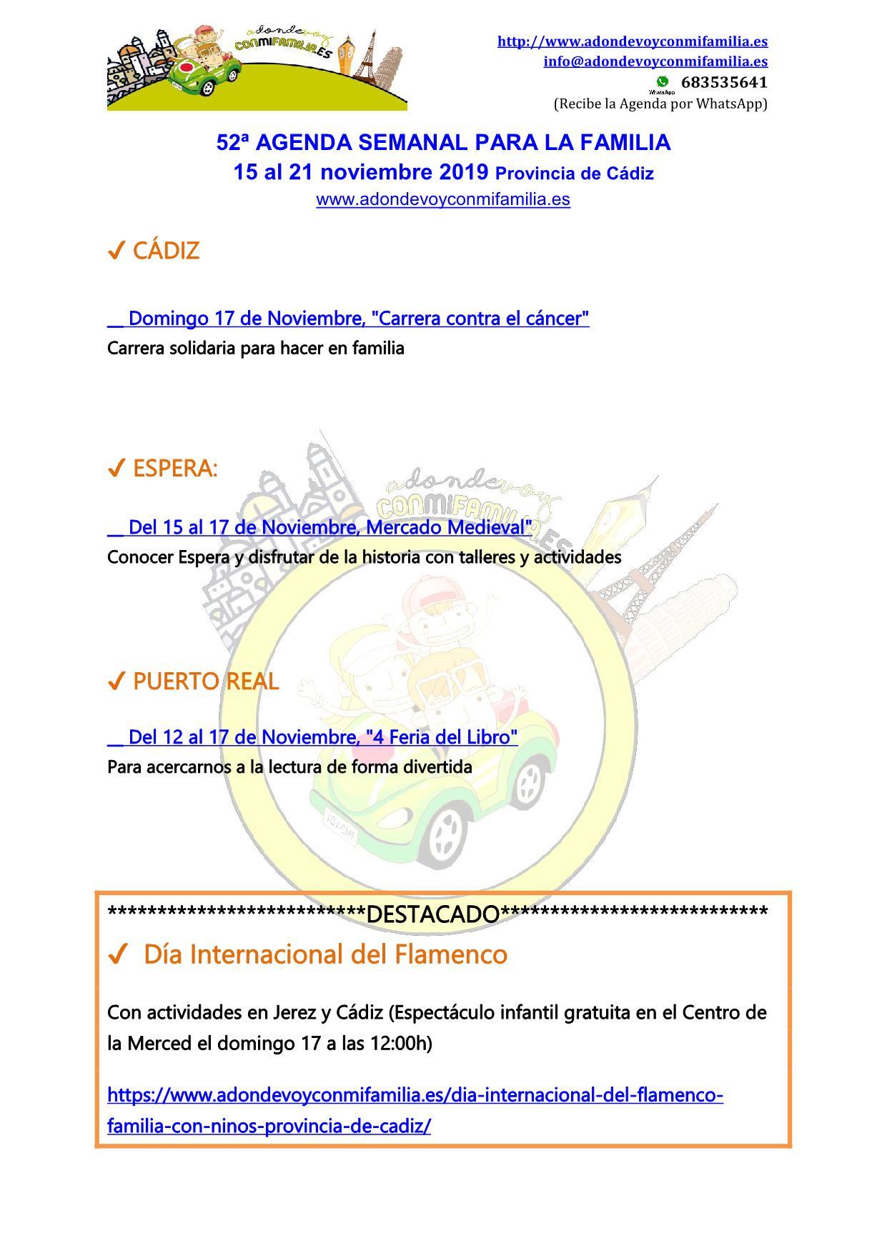"""__ Domingo 17 de Noviembre, """"Carrera contra el cáncer"""" Carrera solidaria para hacer en familia"""