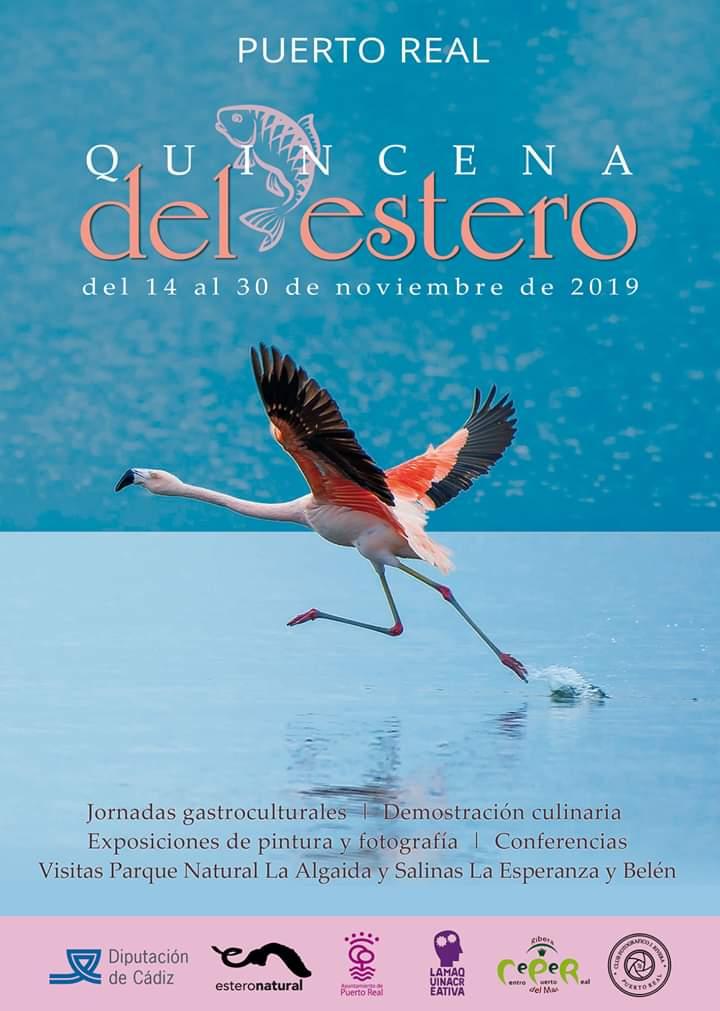 QUINCENA DEL ESTERO Familia con Niños (PUERTO REAL) Del 14 al 30 de Noviembre de 2019