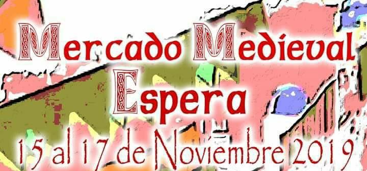 MERCADO MEDÍEVAL Familia con Niños (ESPERA) Del 15 al 17 de Noviembre de 2019